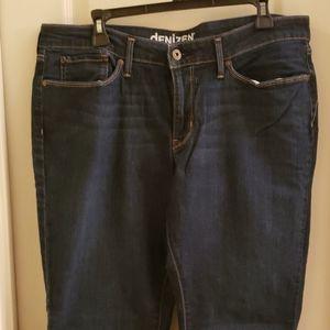 DENIZEN Modern Boot Cut Jeans Short